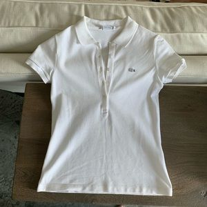 Lacoste Slim Fit Stretch Mini Pique Polo Shirt